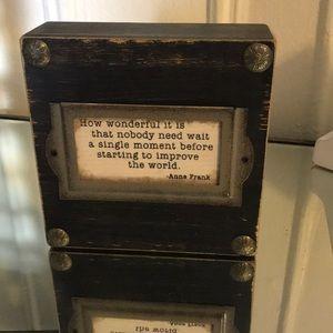 Anne Frank Quote  Decor